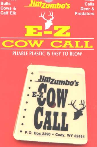 Jim Zumbo's Cow Elk Call