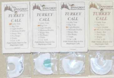 Snowcrest Turkey Diaphragm Calls