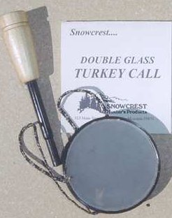 Double-Glass Turkey Call