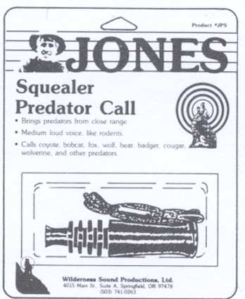 Jones Squealer Predator Call