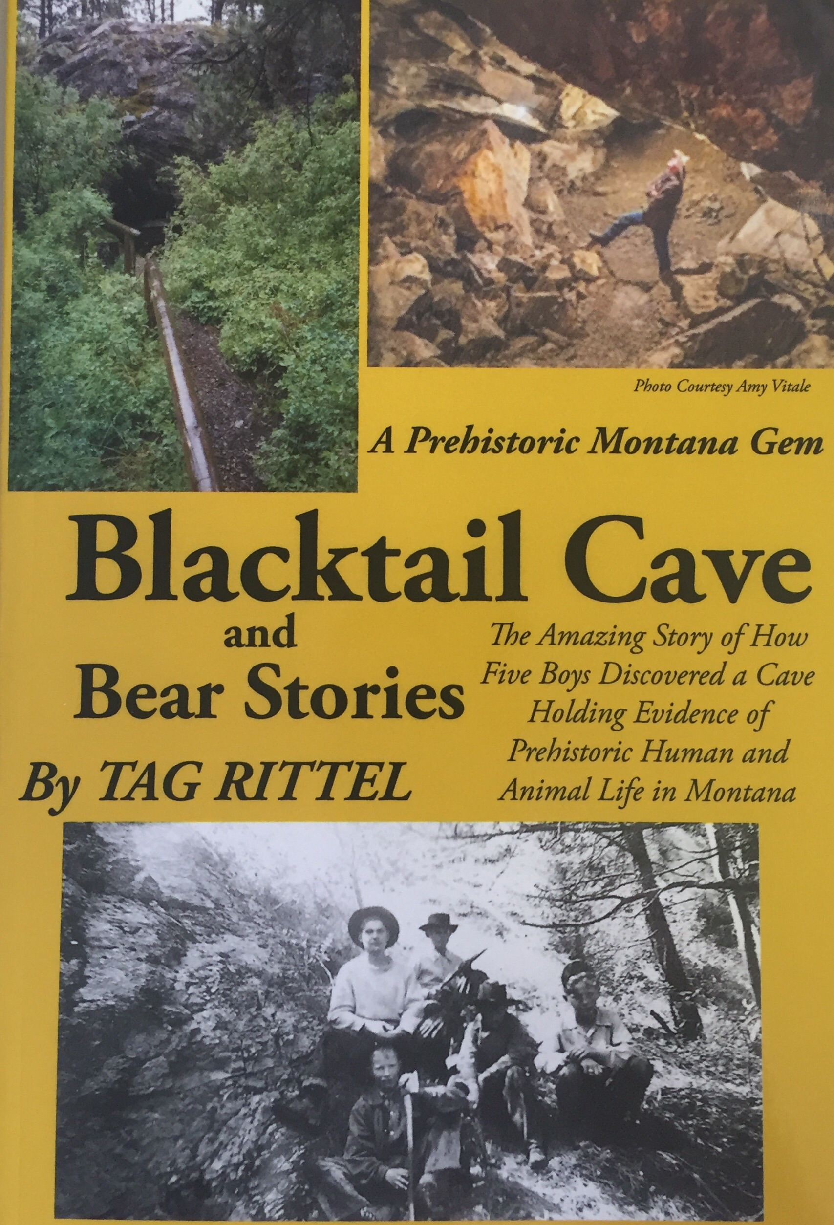 Blacktail Cave and Bear Stories
