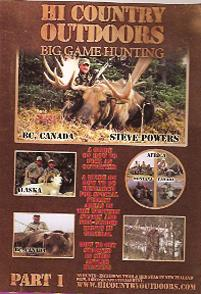 Hi Country Outdoors Big Game Hunting, Part I