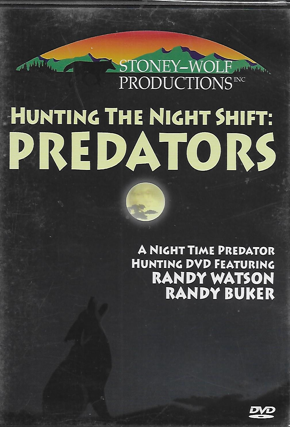 Hunting Night Shift Predators DVD