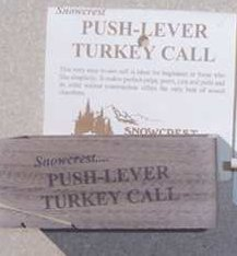 Snowcrest Push-Button Turkey Call