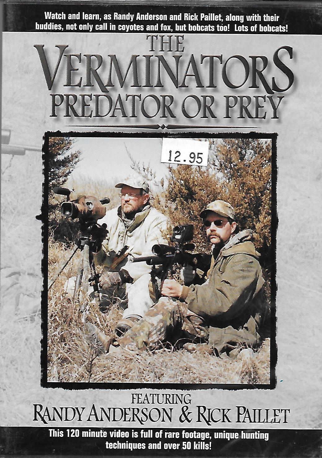 The Verminators Predator or Prey DVD